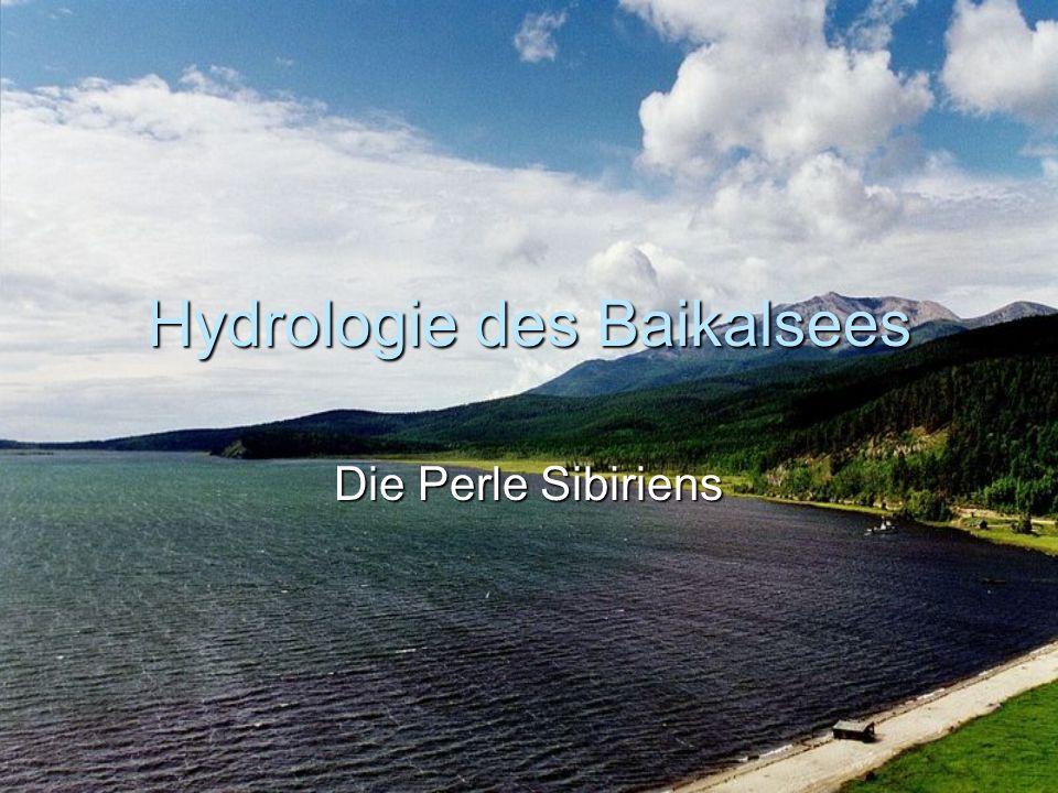 Hydrologie des Baikalsees