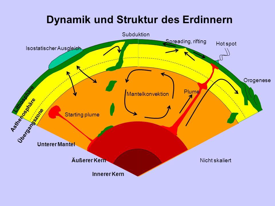 Dynamik und Struktur des Erdinnern
