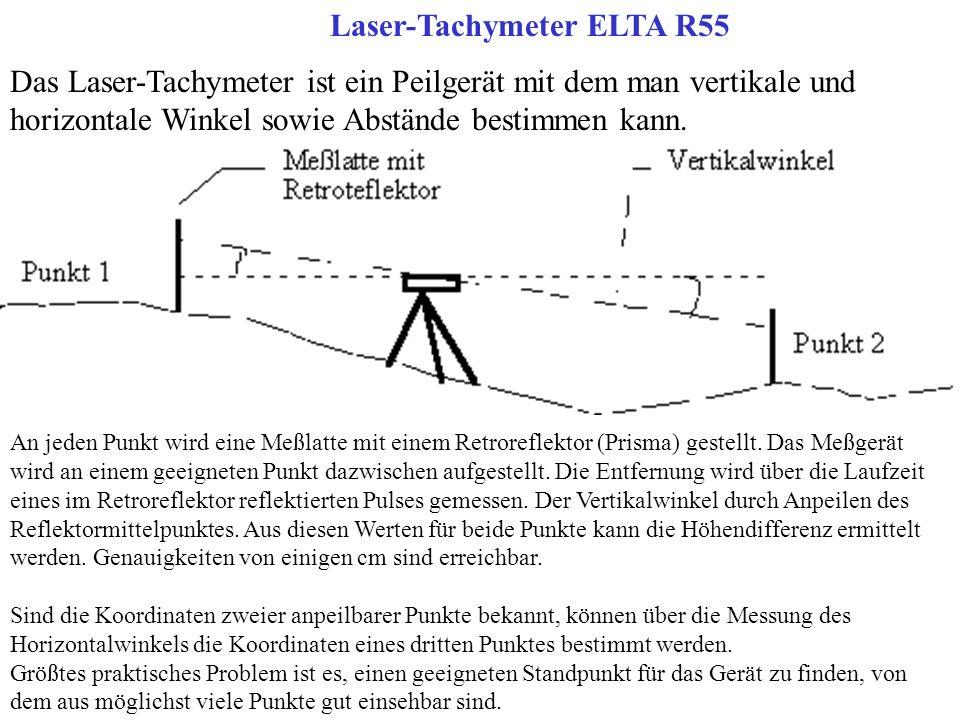 Laser-Tachymeter ELTA R55