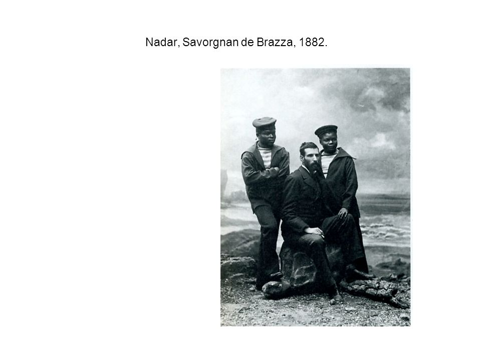 Nadar, Savorgnan de Brazza, 1882.