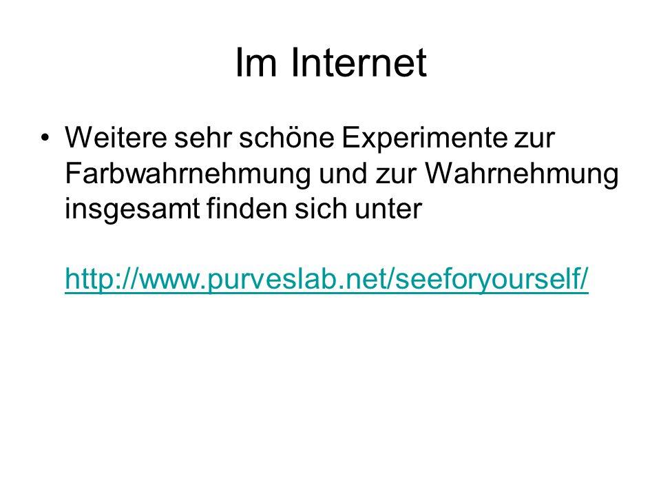 Im Internet