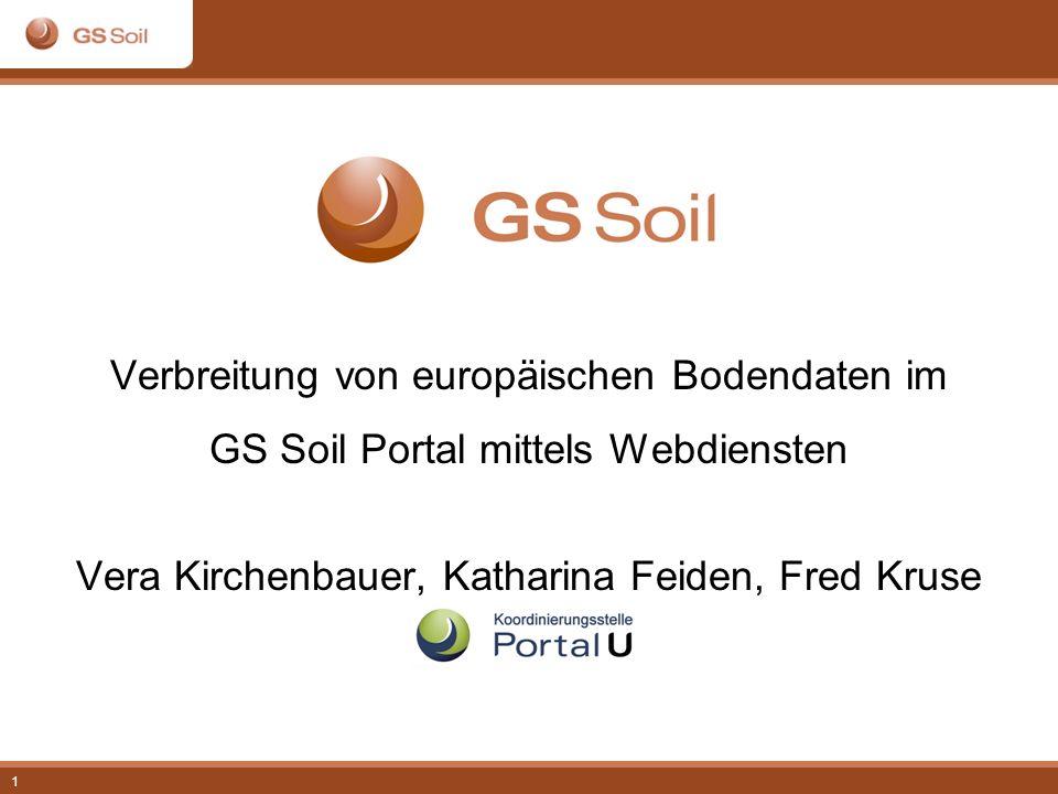 Verbreitung von europäischen Bodendaten im