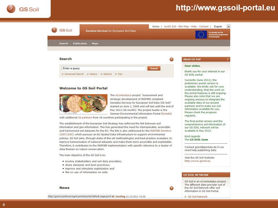 http://www.gssoil-portal.eu