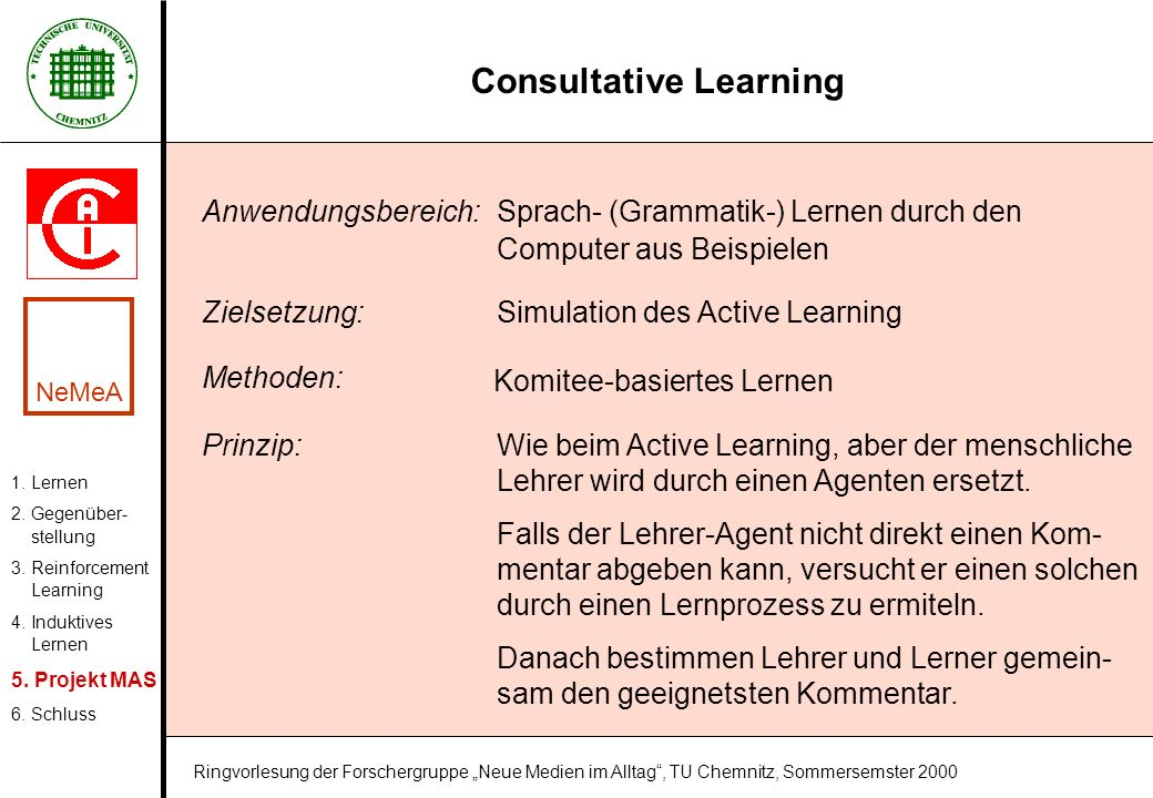 Consultative Learning