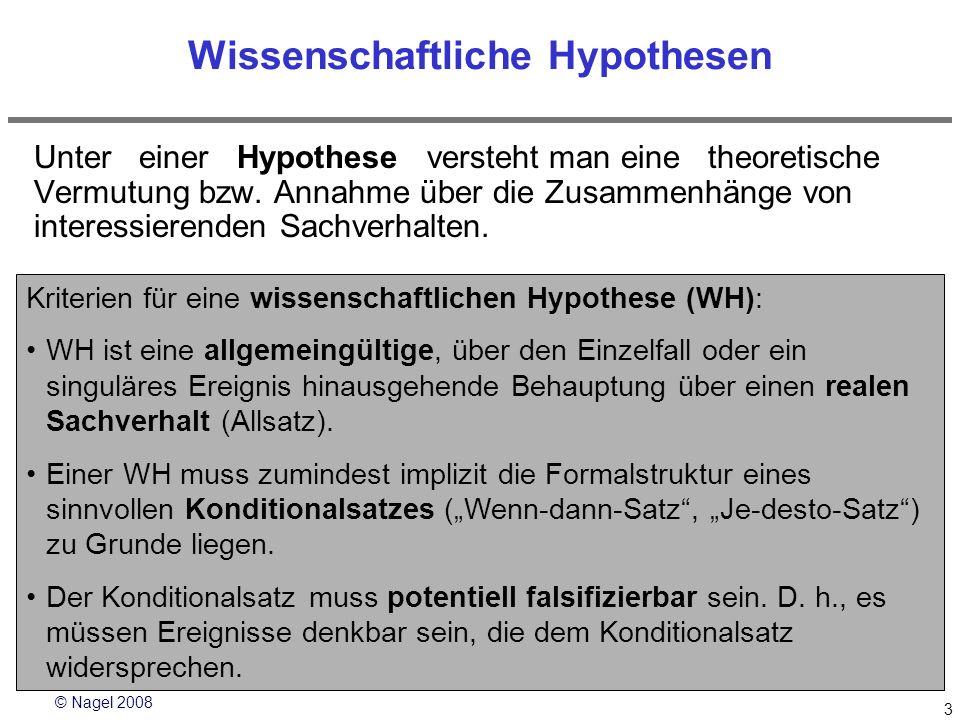 Wissenschaftliche Hypothesen