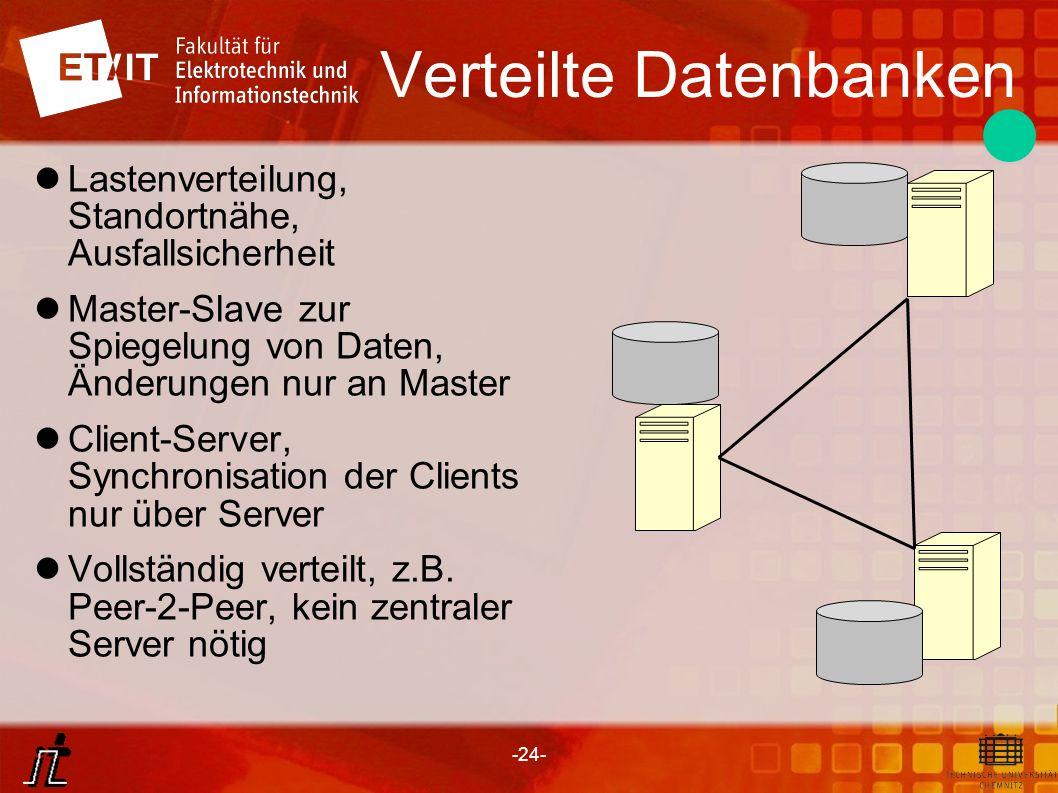 Verteilte Datenbanken