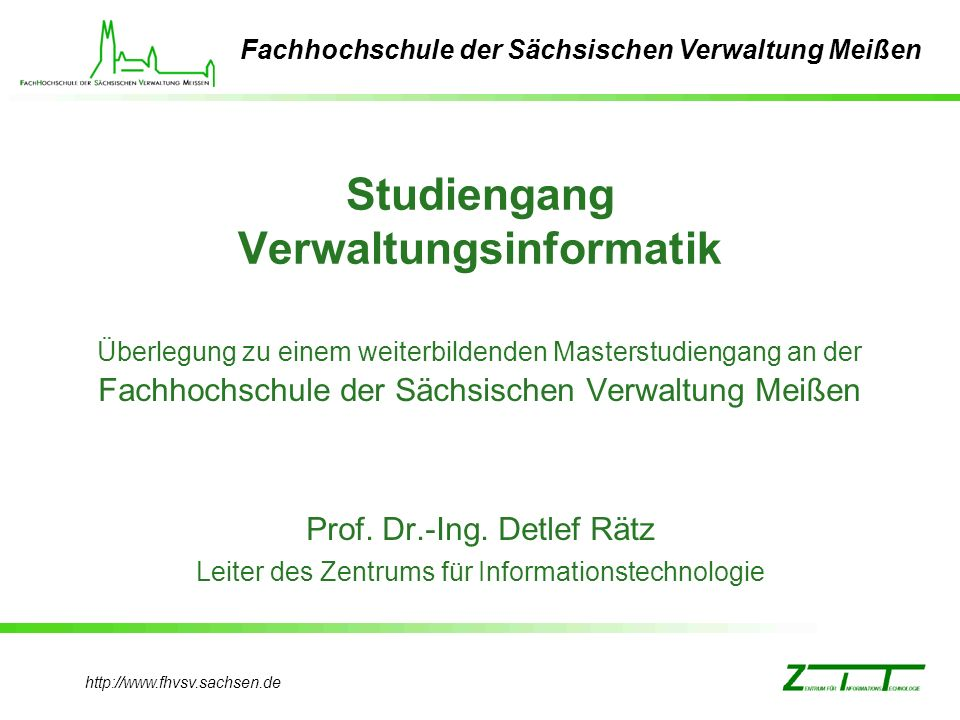 Studiengang Verwaltungsinformatik