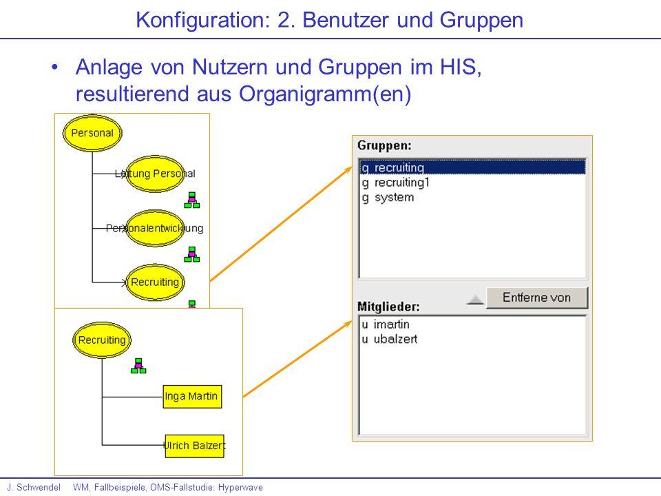 Konfiguration: 2. Benutzer und Gruppen