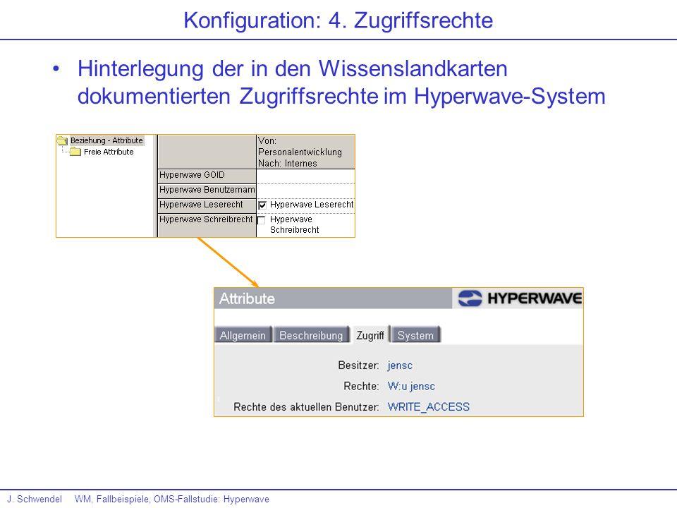 Konfiguration: 4. Zugriffsrechte