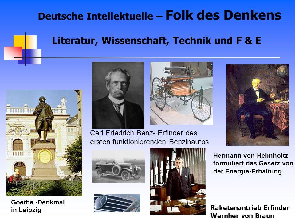 Deutsche Intellektuelle – Folk des Denkens