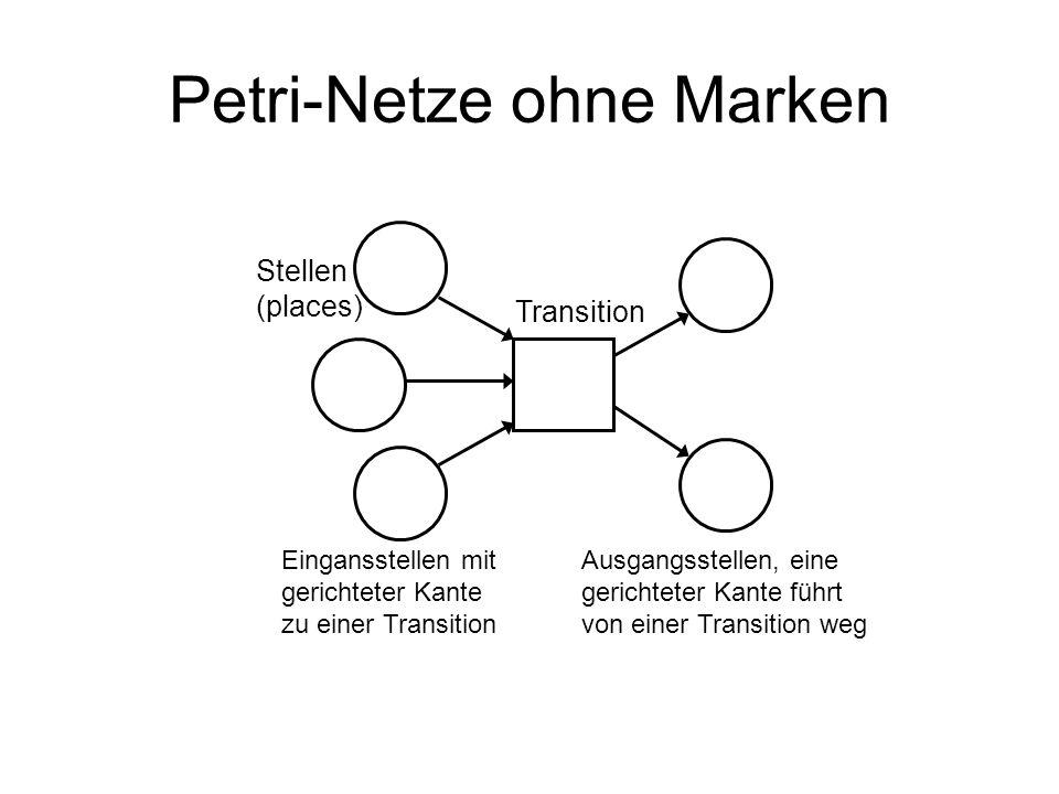Petri-Netze ohne Marken