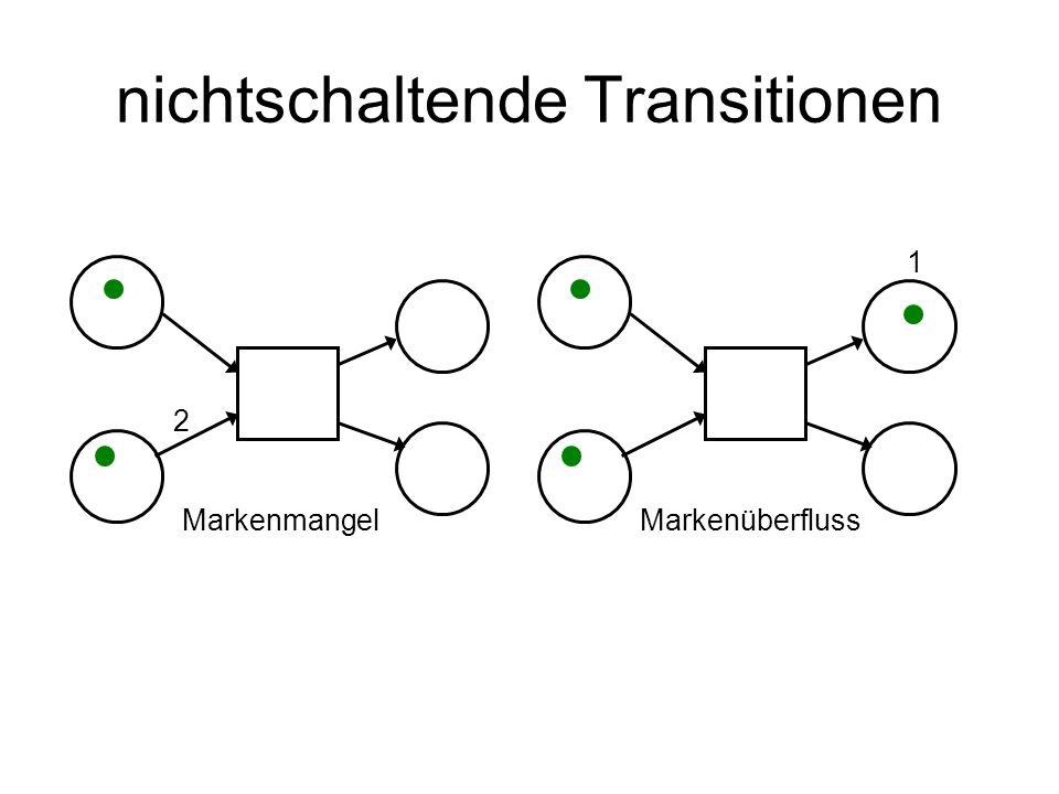 nichtschaltende Transitionen