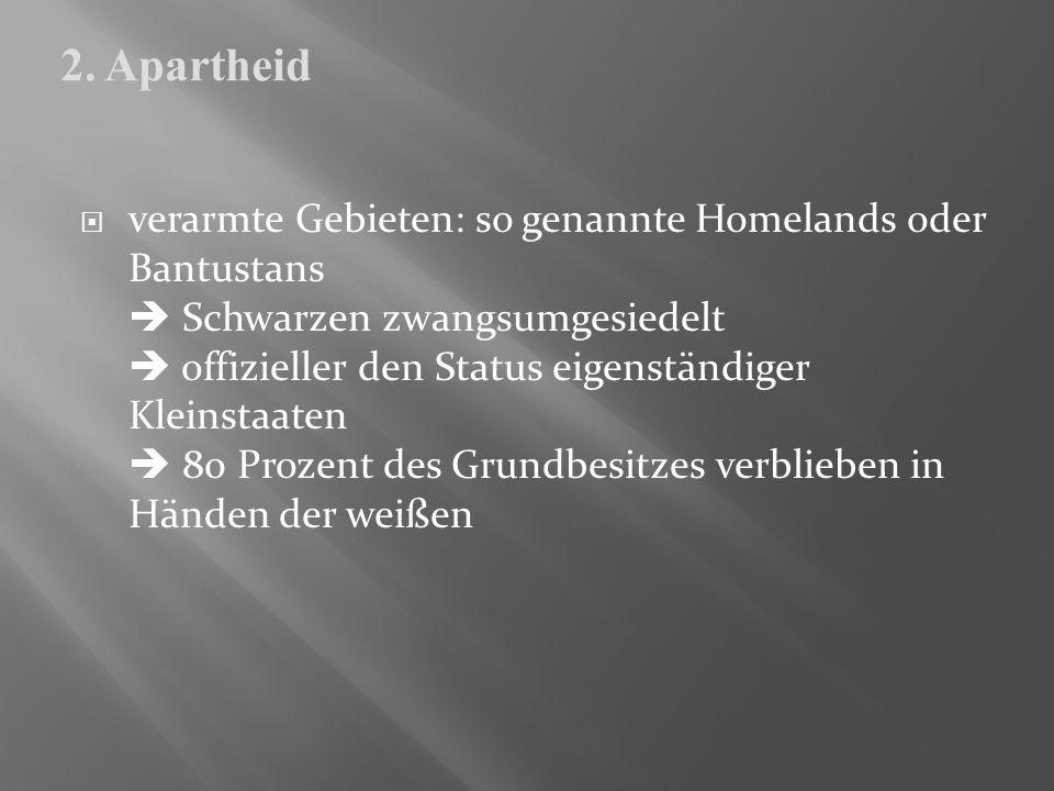 2. Apartheid
