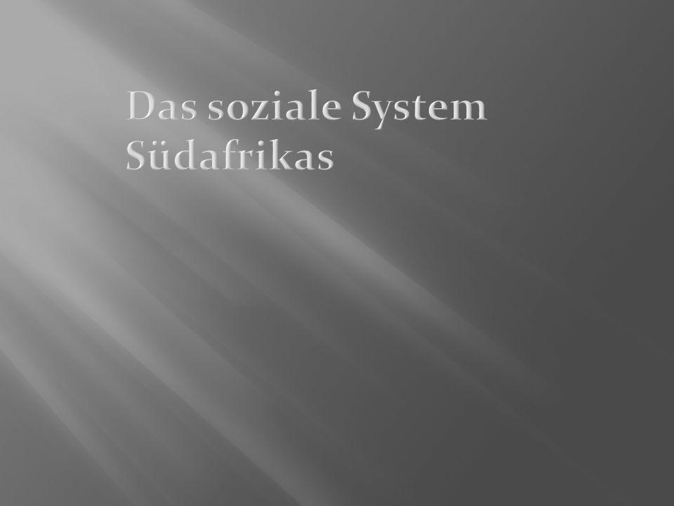 Das soziale System Südafrikas