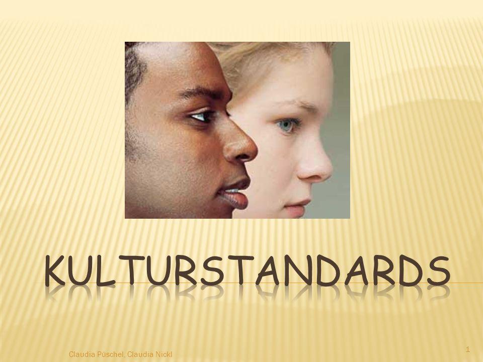 Kulturstandards Claudia Püschel, Claudia Nickl