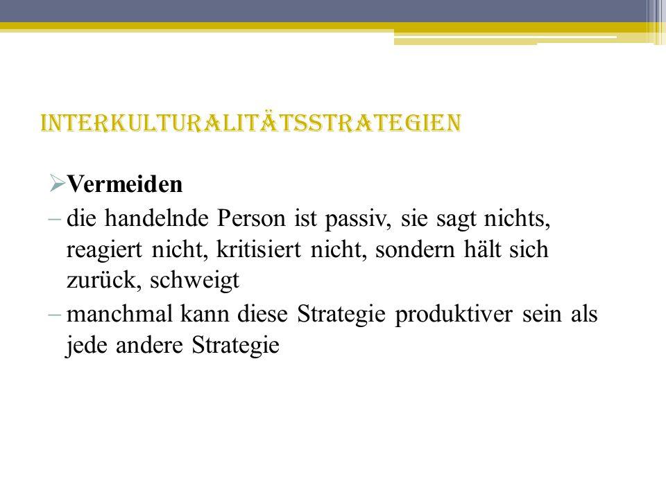 Interkulturalitätsstrategien