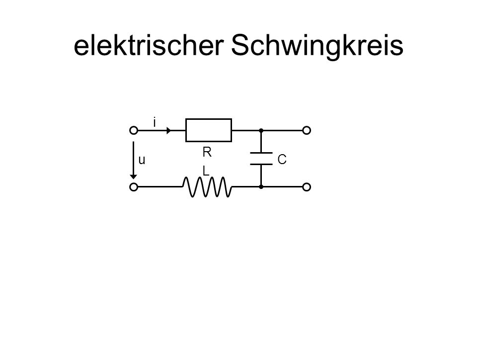 elektrischer Schwingkreis