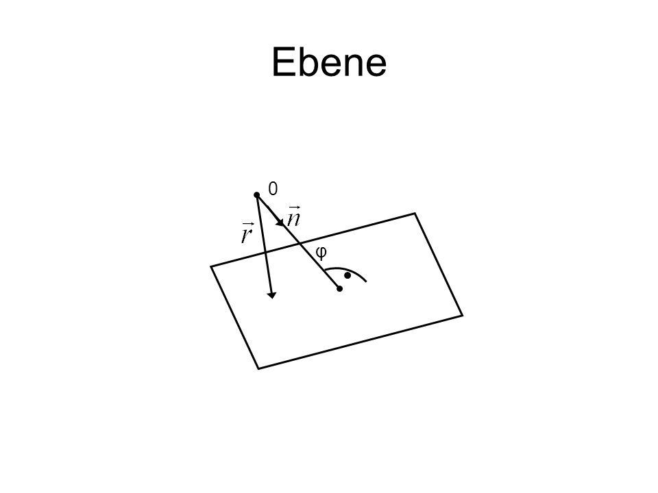 Ebene φ