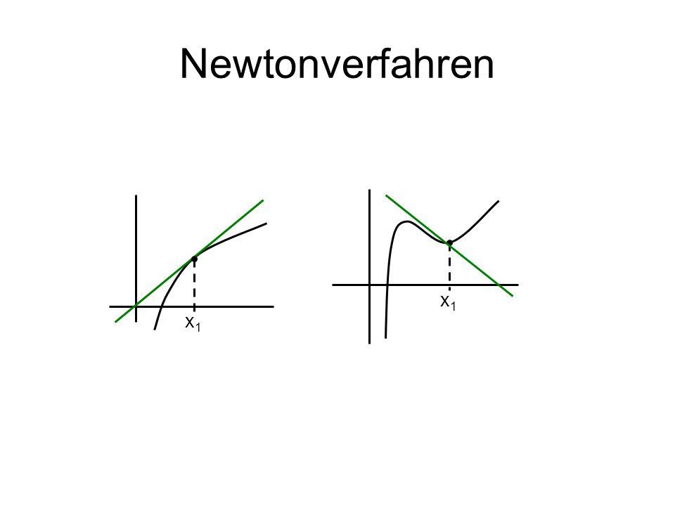 Newtonverfahren x1 x1