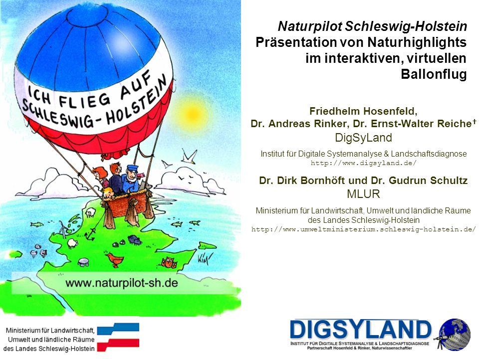 Dr. Dirk Bornhöft und Dr. Gudrun Schultz MLUR