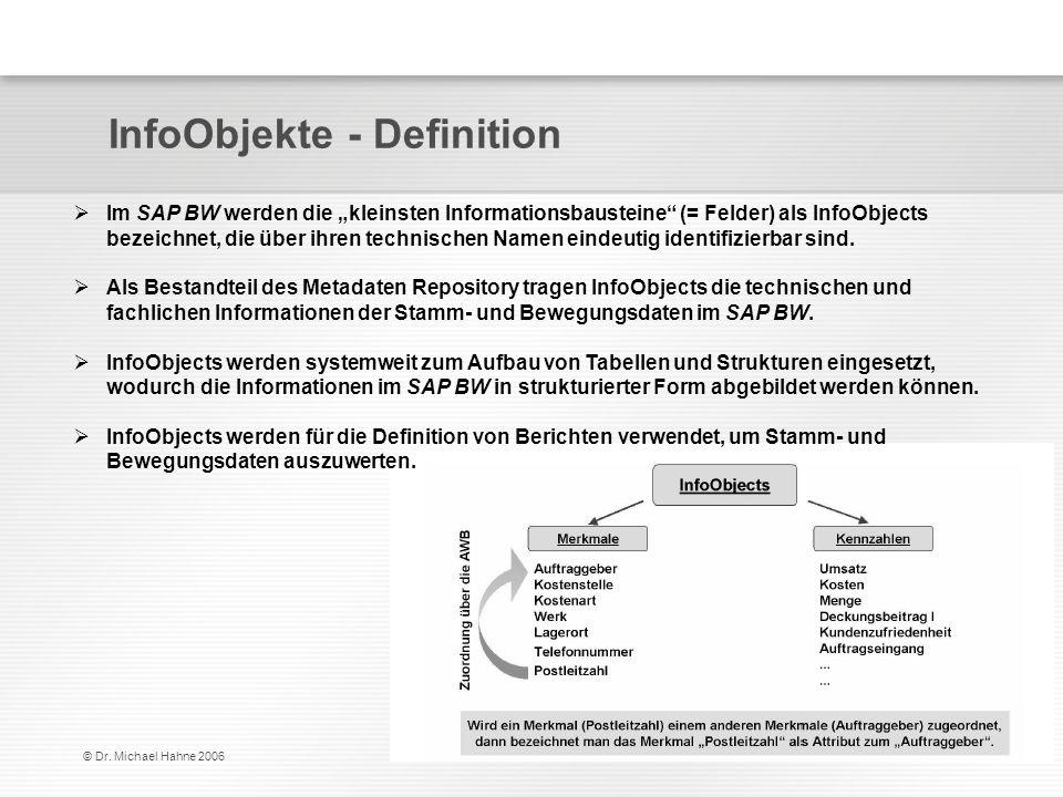 InfoObjekte - Definition