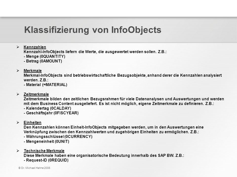 Klassifizierung von InfoObjects