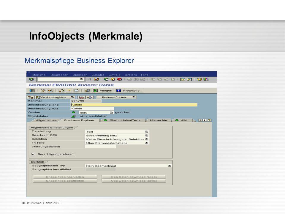 InfoObjects (Merkmale)