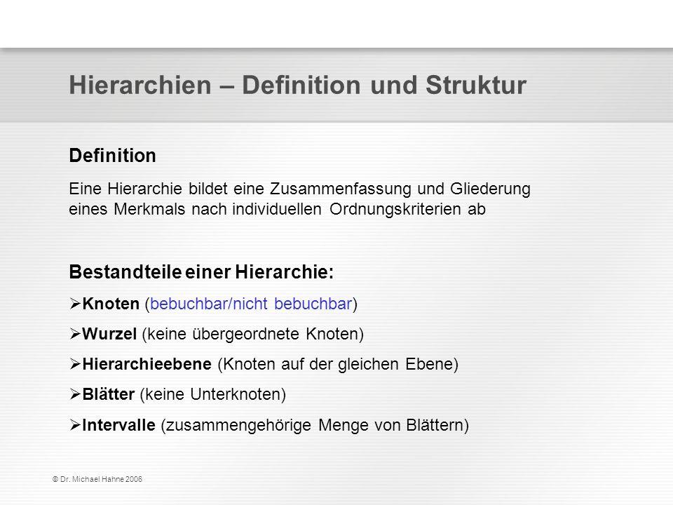Hierarchien – Definition und Struktur