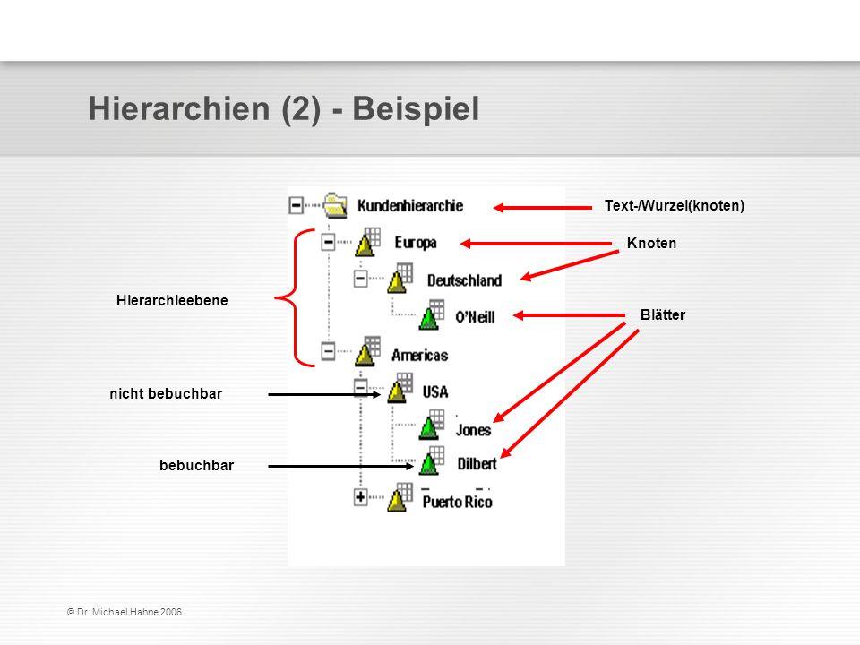 Hierarchien (2) - Beispiel