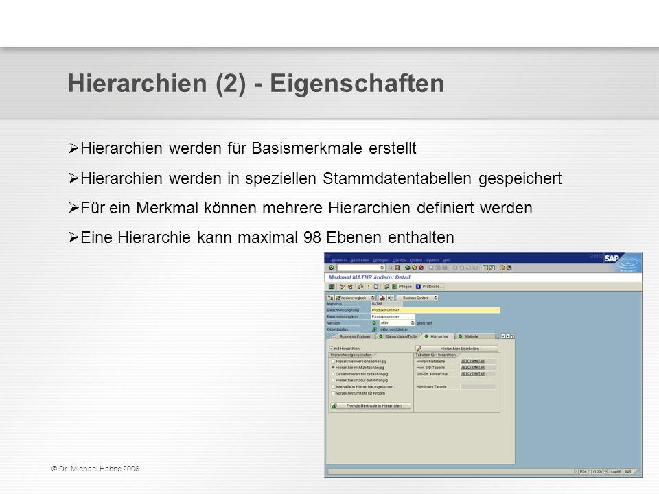 Hierarchien (2) - Eigenschaften