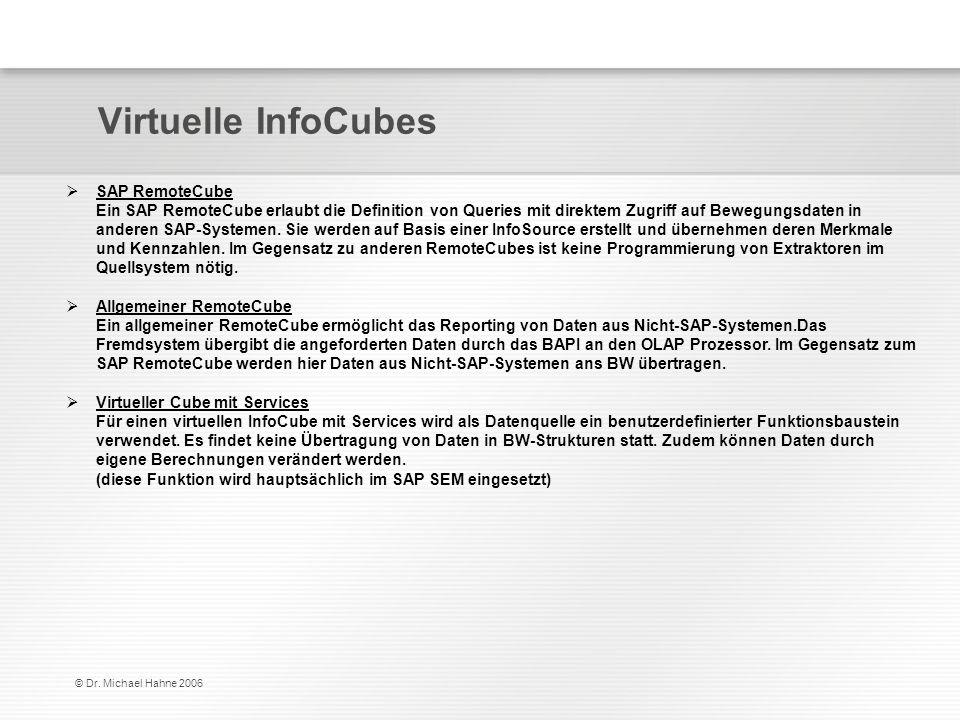 Virtuelle InfoCubes