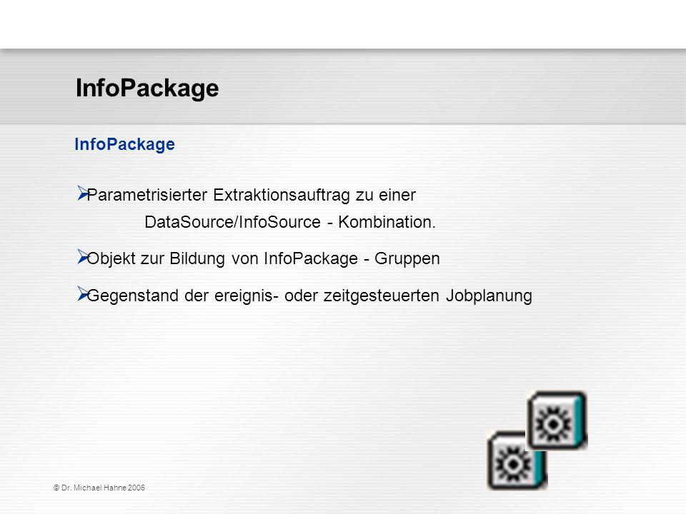 InfoPackage InfoPackage
