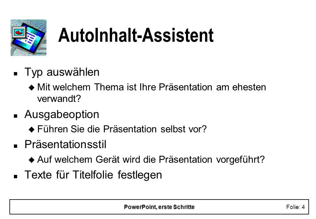 AutoInhalt-Assistent