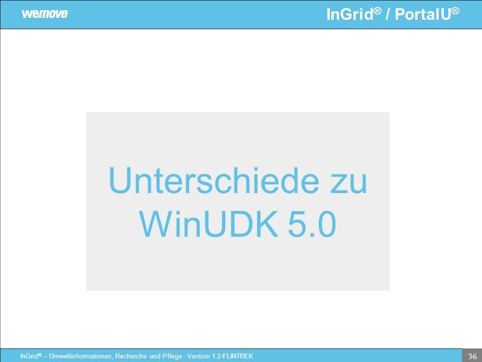 Unterschiede zu WinUDK 5.0