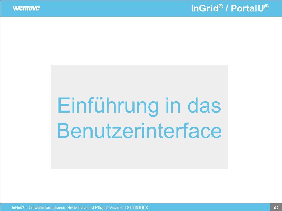 Einführung in das Benutzerinterface
