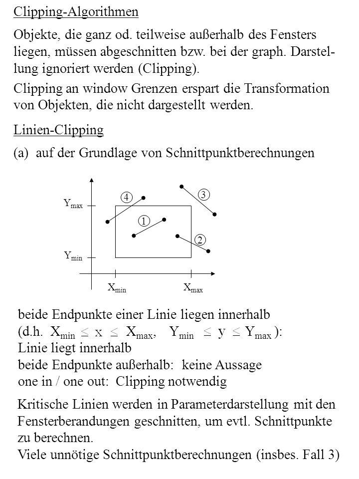 Clipping-Algorithmen