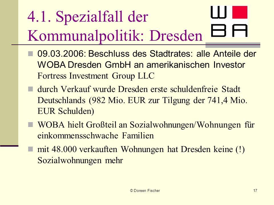 4.1. Spezialfall der Kommunalpolitik: Dresden