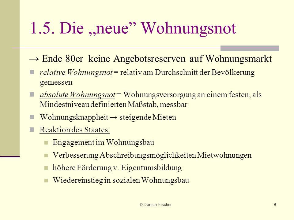 """1.5. Die """"neue Wohnungsnot"""