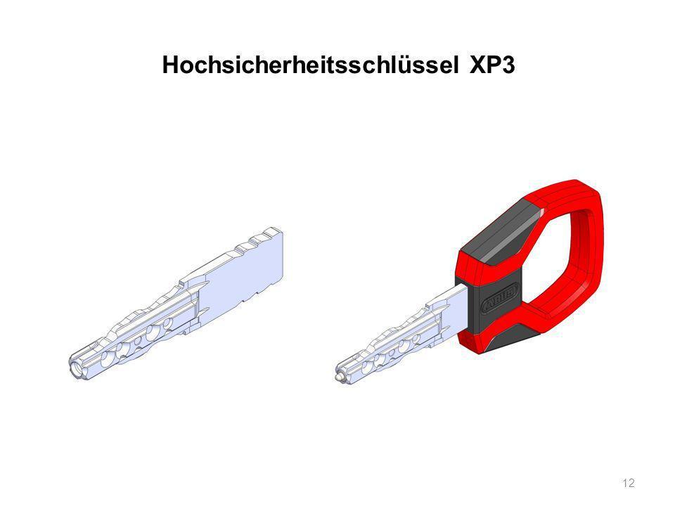 Hochsicherheitsschlüssel XP3