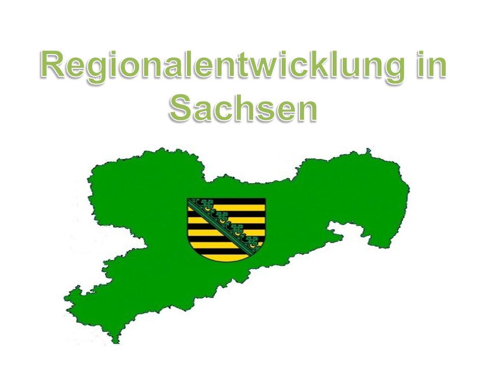 Regionalentwicklung in Sachsen