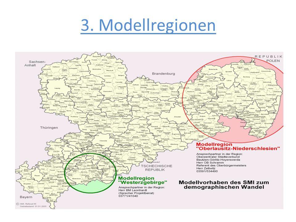 3. Modellregionen