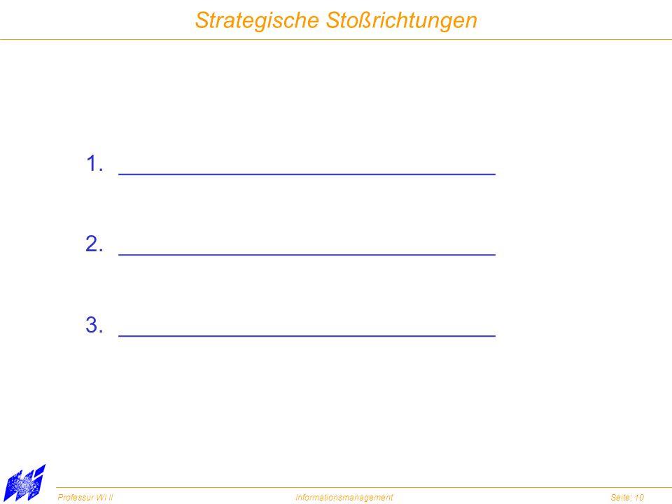 Strategische Stoßrichtungen