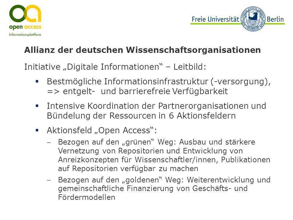 Allianz der deutschen Wissenschaftsorganisationen