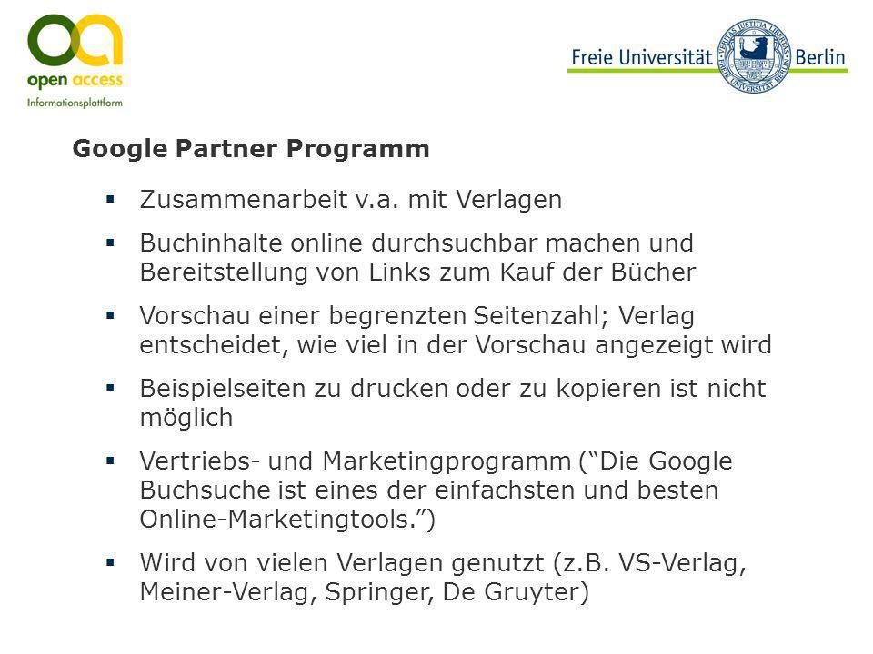 Google Partner Programm