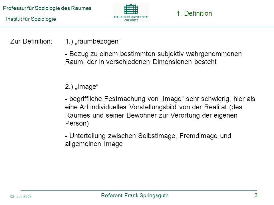 """1. Definition Zur Definition: 1.) """"raumbezogen"""