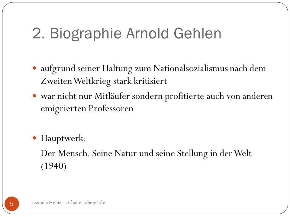 2. Biographie Arnold Gehlen