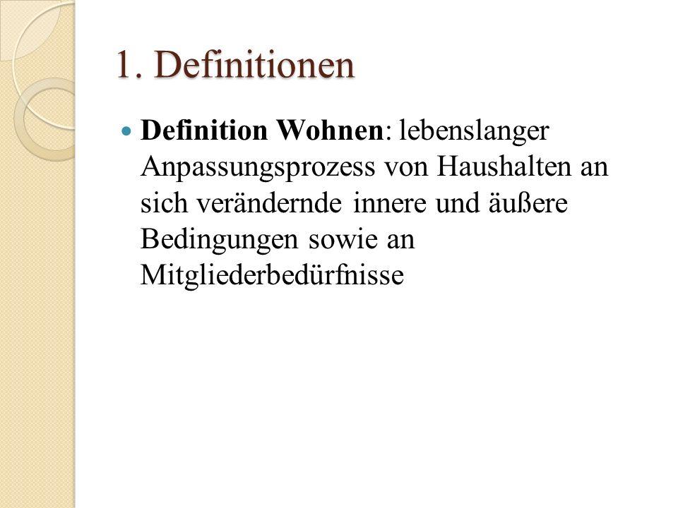 1. Definitionen