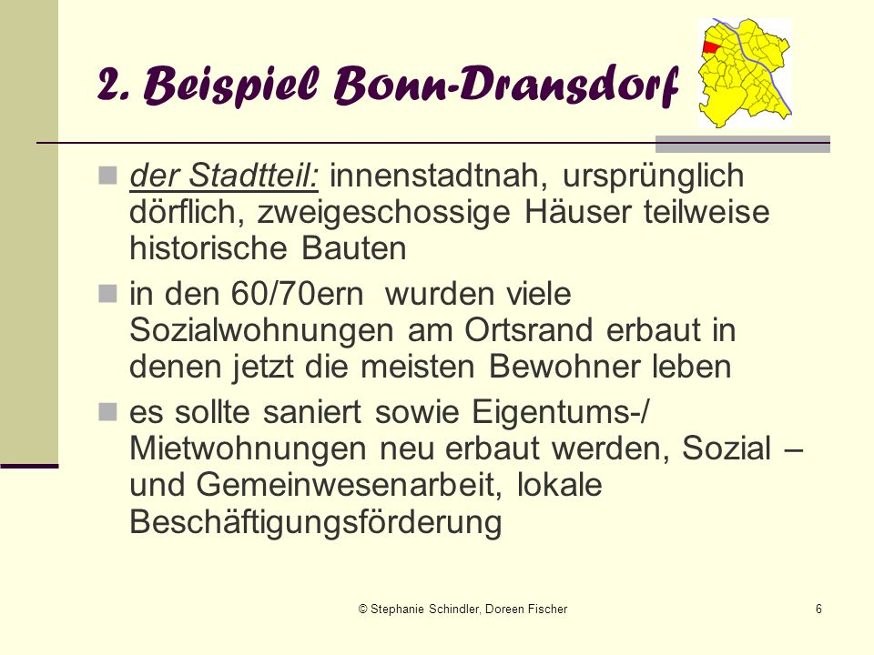 2. Beispiel Bonn-Dransdorf