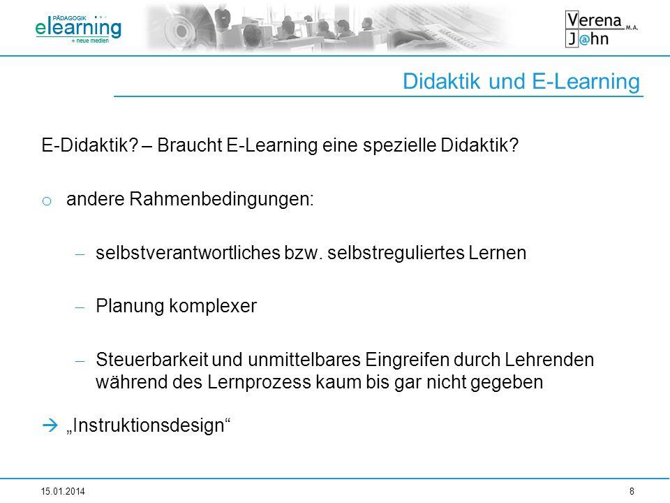 Didaktik und E-Learning
