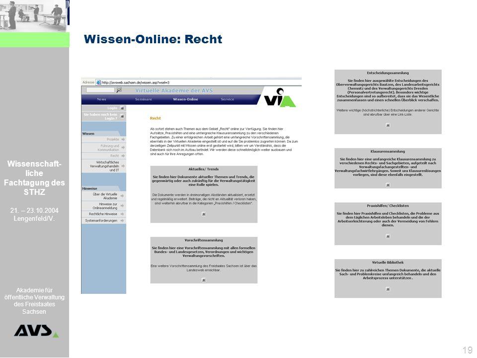 Wissen-Online: Recht